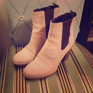 Cole Haan boots -suede, pull on